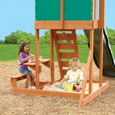 big backyard springfield ii wood swing set toys