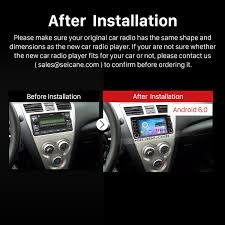 din android 6 0 in dash navigation dvd player 1996 2009 toyota