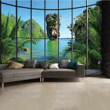 thailand window view wall mural 315cm x 232cm tropical thailand window view wall mural 315cm x 232cm