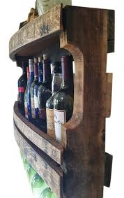 buy hand made the napa wine rack rustic wine rack reclaimed wood