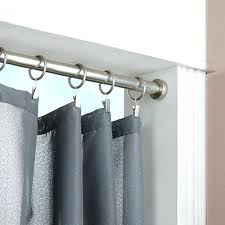 tension rod curtains medium size of enamour tension rod room