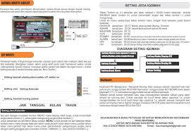 Jadwal Sholat Jogja Pusat Jam Digital Running Text Jadwal Sholat Digital Masjid