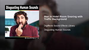 Snoring Room by Man In Hotel Room Snoring With Traffic Background Youtube