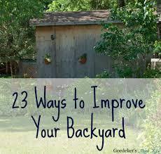 Building A Horseshoe Pit In Backyard 23 Ways To Improve Your Backyard Goedeker U0027s Home Life