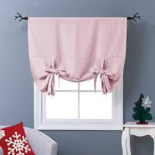 Amazon Thermal Drapes Amazon Com Nicetown Thermal Insulated Blackout Curtain In Baby