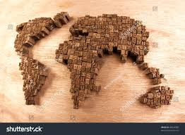 World Map Desk by World Map On Wooden Desk Stock Photo 48954589 Shutterstock