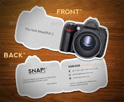 camera business cards 40 premium business card templates for