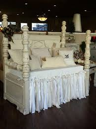 1920 u0027s waterfall headboard and footboard repurposed into a bench