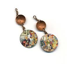 decoupage earrings 53 best decoupage earring ideas images on decoupage
