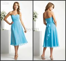cheap light blue bridesmaid dresses on sale 2012 new simple cheap light blue sweetheart knee length