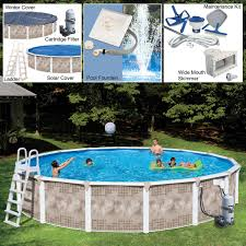 Swimming Pool In Backyard by Pools U0026 Chemicals Costco