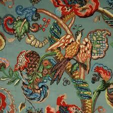 Bird Print Curtain Fabric Curtain Bird Print Fabric Rare Endearing Nature Inspired Shower