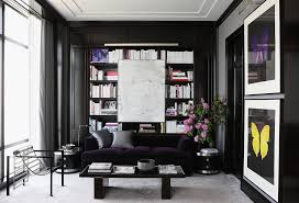 beyond gorgeous black rooms one kings lane