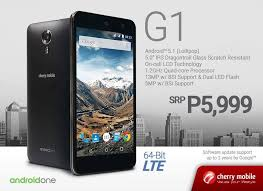 new android phones 2015 cherry mobile unveils a new android one handset the g1