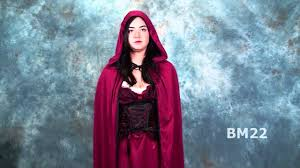 Little Red Riding Hood Makeup For Halloween by Dark Red Riding Hood Halloween Costume Review Youtube