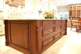 wooden legs for kitchen islands kitchen island with legs custom cut legs to fit your kitchen island