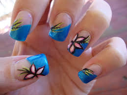 25 beautiful flower nail art designs indian beauty blog