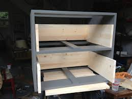 Kitchen Cart With Drawers by Diy Rolling Kitchen Cart U2013 Better Remade