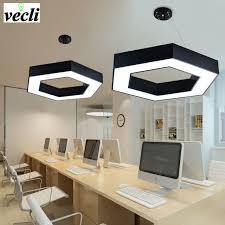 lustre bureau 36 w chaude mode hexagone led pendentif les géométrique bureau