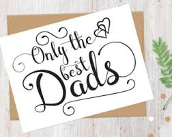 great dads get promoted to card etsy