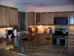 Rock Backsplash Kitchen by Stone Kitchen Backsplash Dark Cabinets