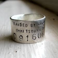 personalized wedding band unique bird band ring personalized wedding ring