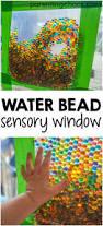 water beads sensory window bag water beads sensory play and window