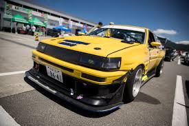 yellow toyota corolla 2016 toyota 86 style at fuji speedway top 10 listverse car