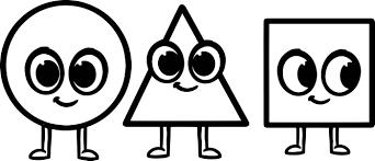 triangle coloring page triangle coloring page color musical
