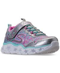 light up running shoes skechers big girls s lights galaxy lights light up athletic