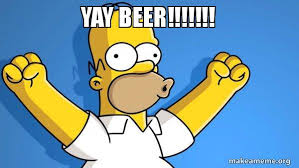 Yay Meme - yay beer happy homer make a meme