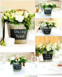 Tin Buckets For Centerpieces by Country Style Centerpieces For Weddings