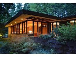 modern frank lloyd wright style homes brandes home sammamish washington 1952 usonian style frank