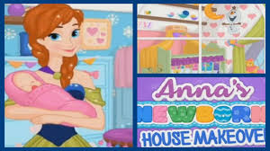 amazing anna u0027s newborn house makeover video play newest baby room