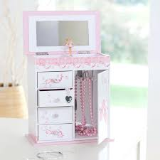 Girls Personalized Jewelry Box Personalized Flower Jewelry Box Musical Boxes 15172 Interior