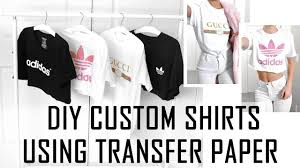 easy diy custom t shirts whatever design you want how to use