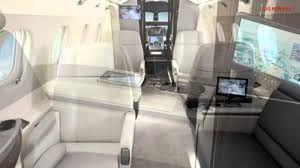 Private Jet Interiors Legacy 500 Private Jet Interior Youtube