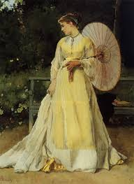 in the country by alfred stevens in the garden of eden artist u0027s