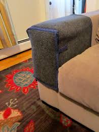 cat scratching couch or chair arm protection 25 00 via etsy in