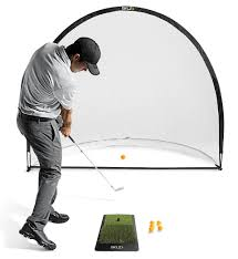leader accessories 4 in 1 golf practice set hitting cages