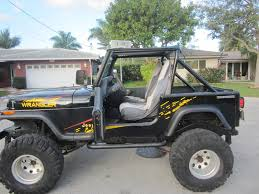 jeep wrangler lifted 1990 jeep wrangler 4x4 lifted clean florida jeep 00 obo 954 937