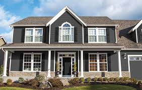 style of house exterior paint color schemes