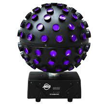 led disco ball light american dj starburst led sphere mirror ball effect samash