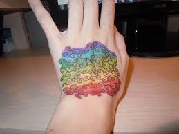 rainbow tattoo 2 by litiorse on deviantart