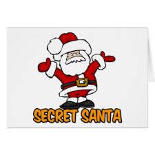 secret santa cards greeting photo cards zazzle