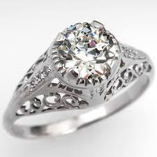 mine cut engagement ring mine cut and european cut diamonds eragem