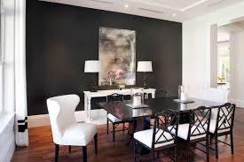 dark dining room decordots modern dining room lack table and chairs warm grey dark
