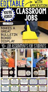 Kindergarten Teacher Job Description Best 25 Classroom Jobs Ideas On Pinterest Class Jobs