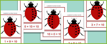 ladybird number bonds free early years u0026 primary teaching