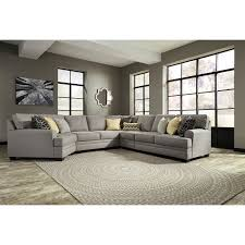 Wayside Furniture Akron by Benchcraft Cresson Contemporary 5 Piece Sectional With Cuddler
